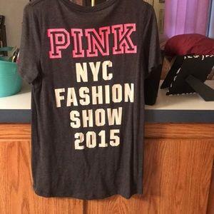PINK Victoria's Secret Tops - VS PINK 2015 Fashion Show tee